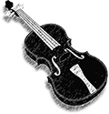 Il Violino Icon Design